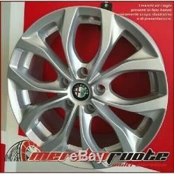 Villeneuve si Kit 4 Jantes en Alliage NAD 17 5x110 ET40 X Alfa Romeo Brera