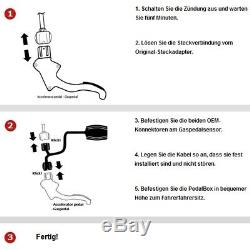 Villes Systems Pedal Box 3s pour Alfa Romeo 159 Sportwagon 939 2005-2011 1.8l