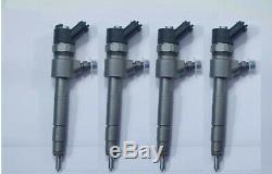 X4 Injecteurs bosch FIAT SUZUKI OPEL ALFA ROMEO 0445110276 (consigne 50)
